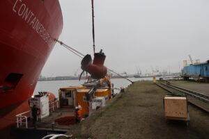 Bow thruster repair in Rotterdam