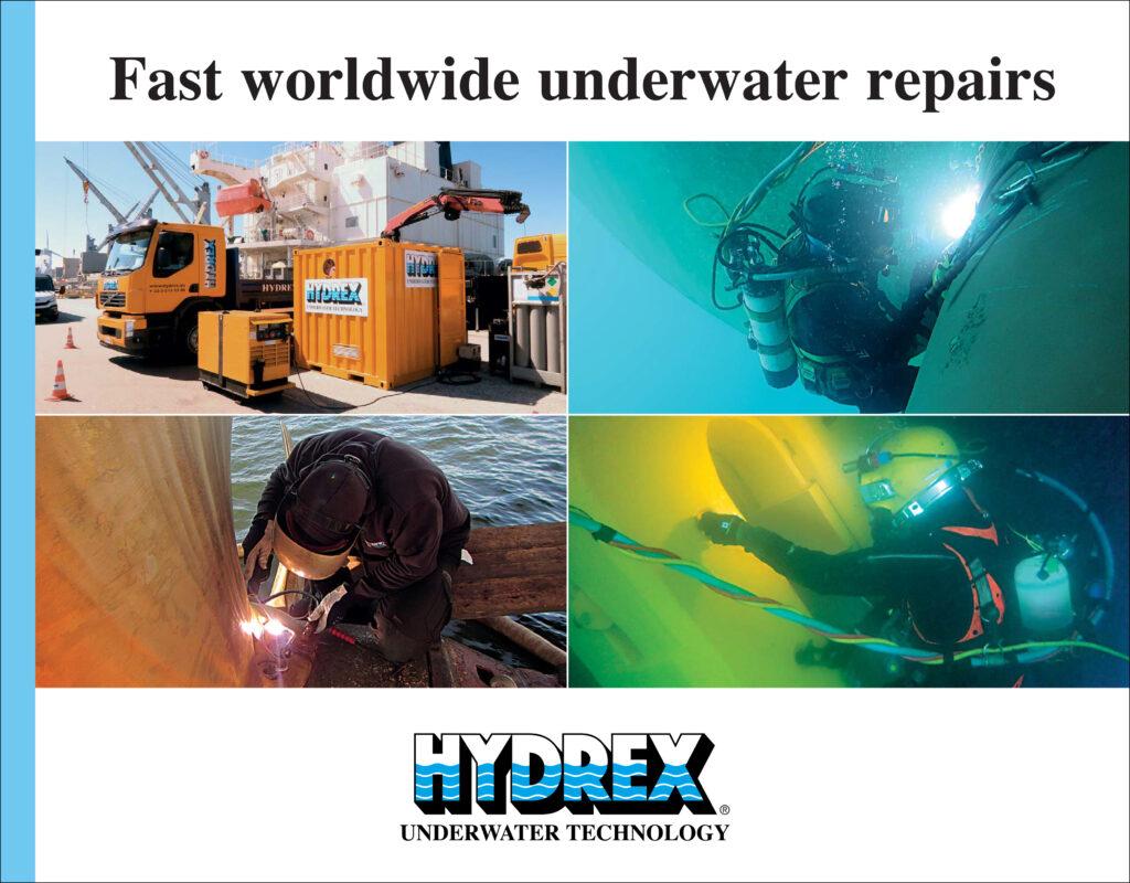Turnkey underwater repair solutions